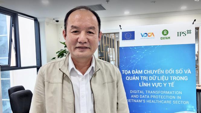 BS. CKII. Nguyễn Quốc Hùng - Giám đốc Bệnh viện Sản Nhi Quảng Ninh (Ảnh: Minh Thuý)