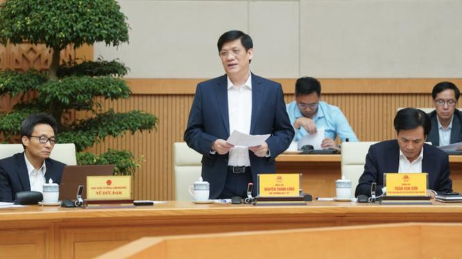 Bộ trưởng Bộ Y tế Nguyễn Thanh Long (Ảnh: VGP)