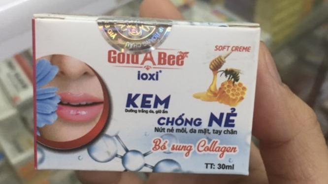 Kem chống nẻ Gold Bee (Ảnh quảng cáo sản phẩm trên shopee)