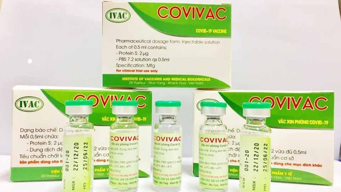 Vaccine phòng COVID-19 COVIVAC (Ảnh- IVAC)