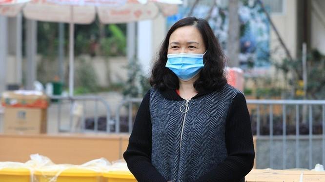 Cô Lê Thị Tuyết Lan – Hiệu trưởng Trường Tiểu học Xuân Phương (Ảnh - TTXVN)