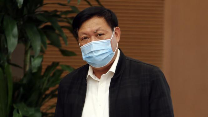 Thứ trưởng Bộ Y tế Đỗ Xuân Tuyên (Ảnh - Đình Nam/VGP)