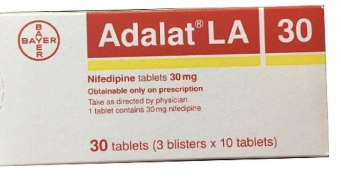 Thuốc Adalat LA30mg (Ảnh - health VN)