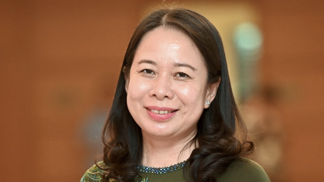 Bà Võ Thị Ánh Xuân (Ảnh - VOV)