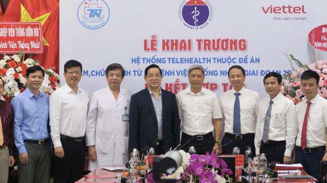Bệnh viện Thống Nhất khai trương hệ thống Telehealth thuộc Đề án Khám, chữa bệnh từ xa của Bộ Y tế (Ảnh - BVCC)