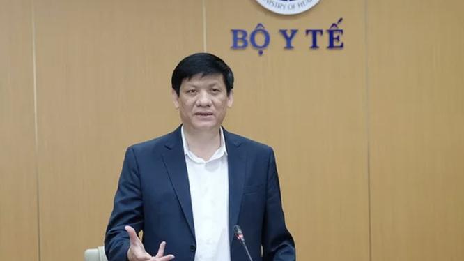 Ông Nguyễn Thanh Long – Bộ trưởng Bộ Y tế (Ảnh - BYT)