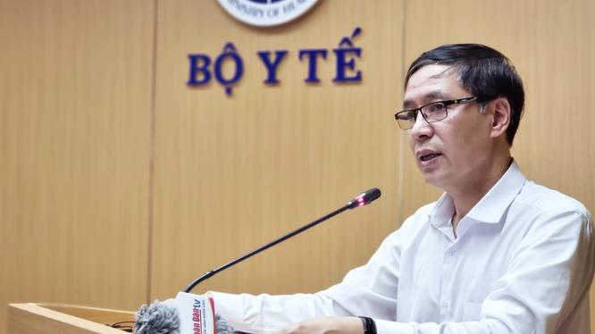 Ông Đặng Quang Tấn - Cục trưởng Cục Y tế dự phòng, Bộ Y tế (Ảnh - BYT)