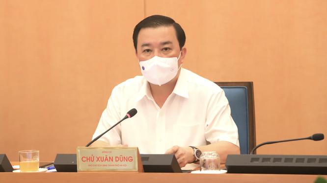 Ông Chử Xuân Dũng - Phó Chủ tịch UBND TP. Hà Nội (Ảnh - Phú Khánh)