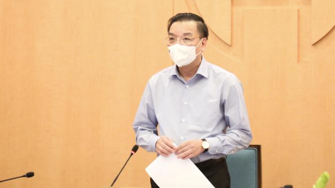 Ông Chu Ngọc Anh – Chủ tịch UBND TP. Hà Nội (Ảnh - Xuân Hải)