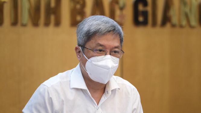 Thứ trưởng Bộ Y tế Nguyễn Trường Sơn (Ảnh - BYT)
