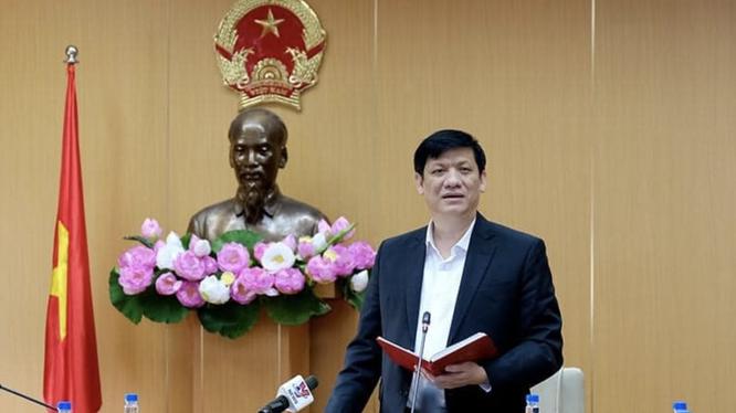 Bộ trưởng Bộ Y tế Nguyễn Thanh Long (Ảnh - Trần Minh)