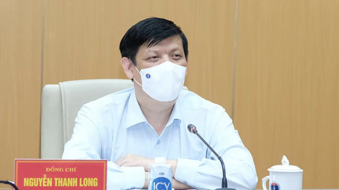 Bộ trưởng Bộ Y tế Nguyễn Thanh Long (Ảnh - BYT)