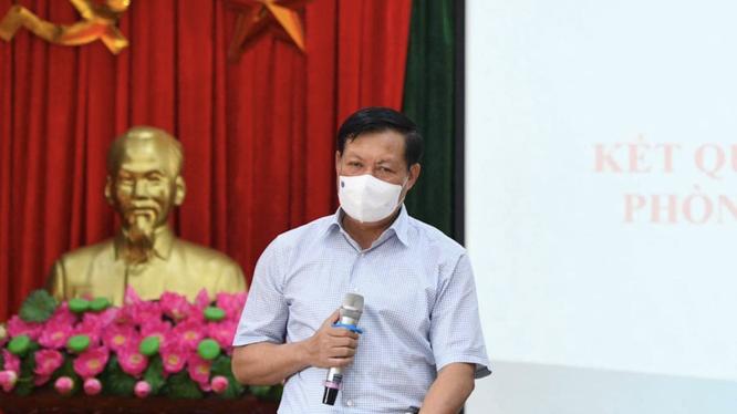 Thứ trưởng Bộ Y tế Đỗ Xuân Tuyên (Ảnh - Anh Tuấn)