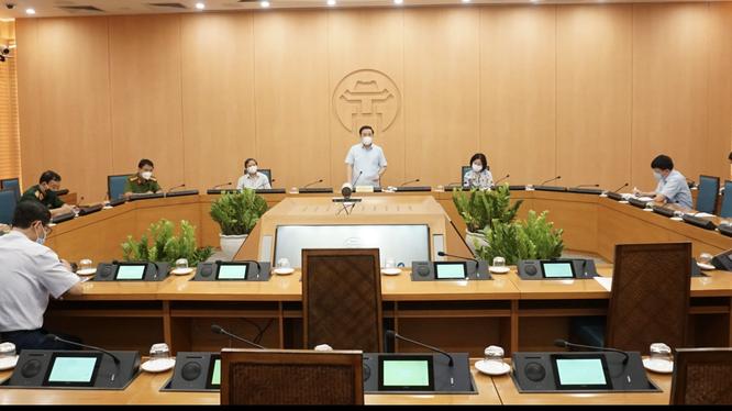 Toàn cảnh cuộc họp (Ảnh - Minh Quang)