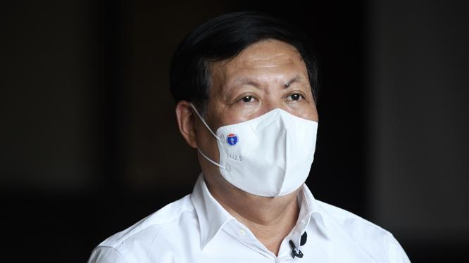 Thứ trưởng Bộ Y tế Đỗ Xuân Tuyên (Ảnh - Thạch Thảo)