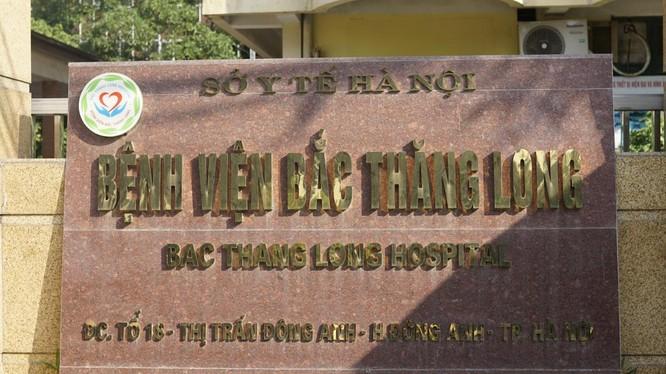 Bệnh viện Bắc Thăng Long (Ảnh - BVCC)