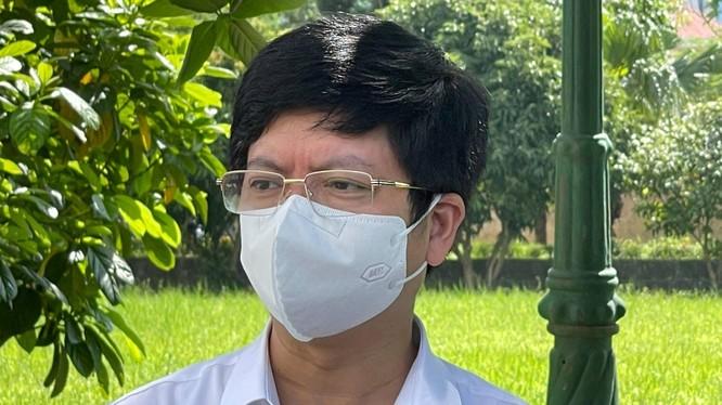 ThS.BS. Nguyễn Trọng Khoa - Phó Cục trưởng Cục Quản lý Khám, chữa bệnh, Bộ Y tế (Ảnh - Khôi Nguyễn)