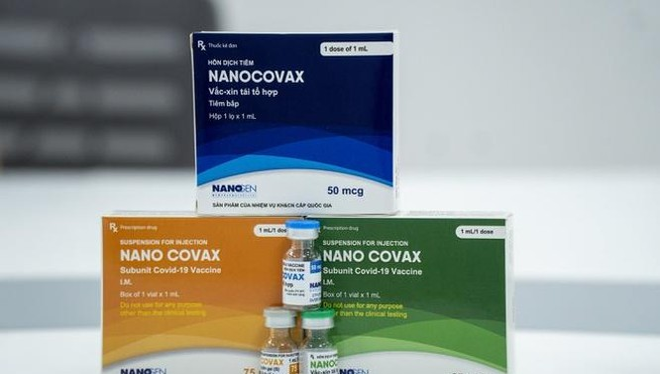 Vaccine phòng COVID-19 Nanocovax (Ảnh - NG)