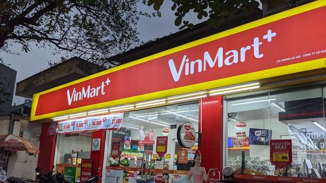 Một cửa hàng trong chuỗi hệ thống siêu thị Vinmart, Vinmart+ (Ảnh VM)