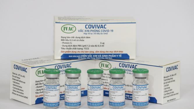 Vaccine phòng COVID-19 COVIVAC (Ảnh - IVAC)