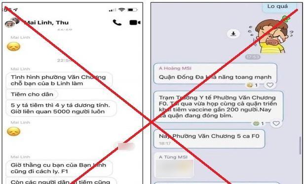 Thông tin sai sự thật gây hoang mang dư luận lan truyền trên mạng xã hội ngày 10/8 (Ảnh - FB)