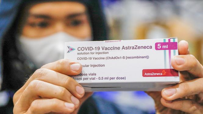 Vaccine phòng COVID-19 của AstraZeneca (Ảnh - AZ)