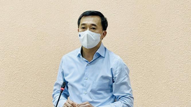 Thứ trưởng Bộ Y tế Trần Văn Thuấn (Ảnh - BYT)