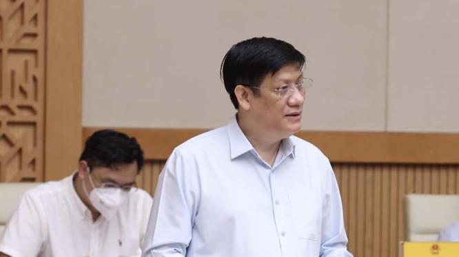 Bộ trưởng Bộ Y tế Nguyễn Thanh Long (Ảnh - Dương Giang)