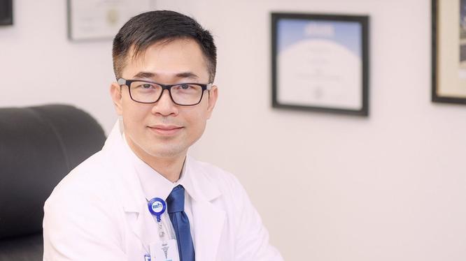 BS. Huynh Wynn Trần – Tổ chức Y khoa VietMD, hiện đang sống và làm việc tại Los Angeles, Hoa Kỳ (Ảnh - NVCC)