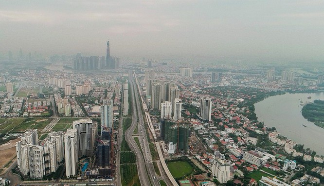 Khu đô thị công nghệ cao và thông minh dự kiến sẽ được xây dựng trên địa bàn quận 2, quận 9 và quận Thủ Đức.