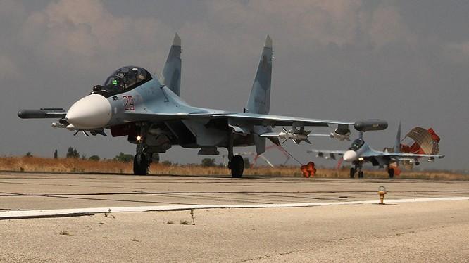 Su-30 Nga trên chiến trường Syria