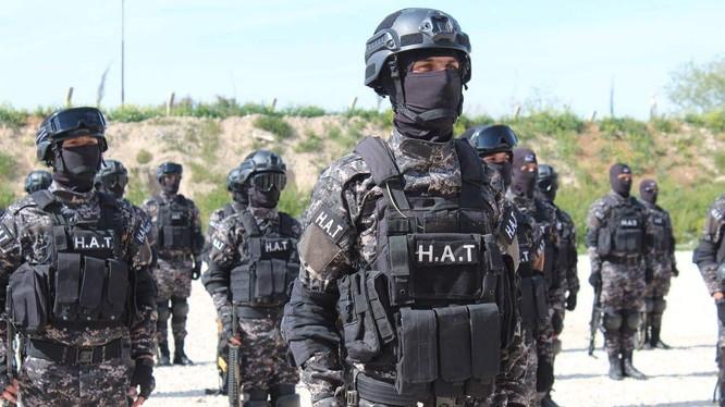 Lực lượng an ninh của SDF.