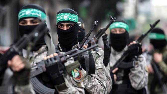 Các chiến binh Hamas tại Dải Gaza.
