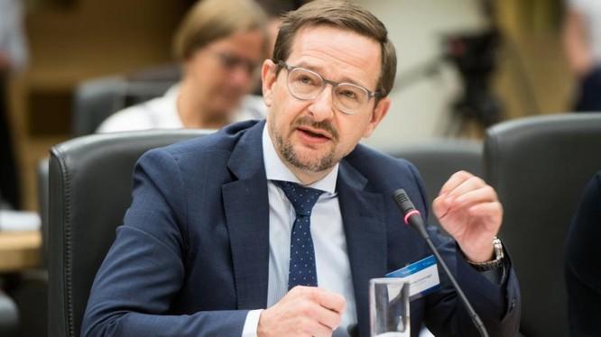 Tổng thư ký Tổ chức An ninh Hợp tác châu Âu (OSCE) Thomas Greminger.