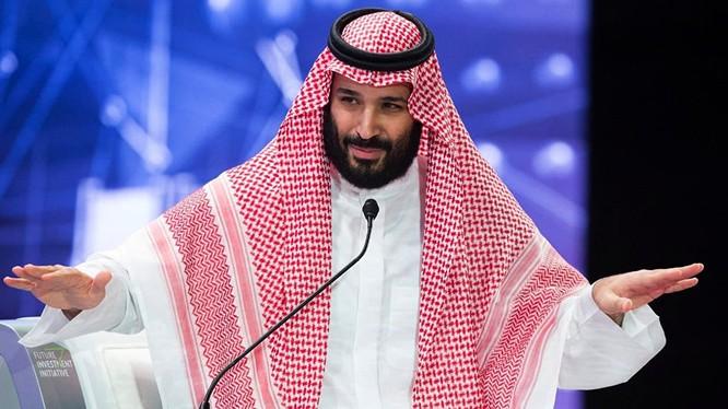 Thái tử Ả rập Xê-út Mohammed Bin Salman.