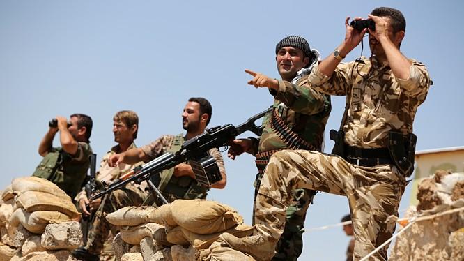 Mỹ và đồng minh đang có những nỗ lực để huấn luyện đạo quân người Kurd tại vùng đông bắc Syria.