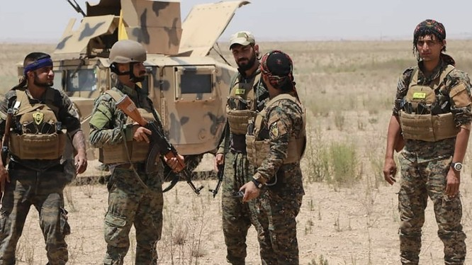 Lực lượng SDF tại Hajin.