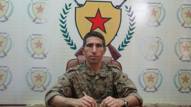 Ông Polat Can, lãnh đạo trung tâm thông tin của lực lượng YPG.
