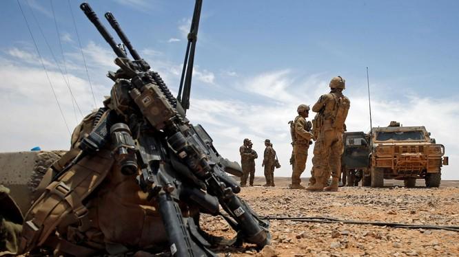 Quân đội Hoa Kỳ tại Syria.