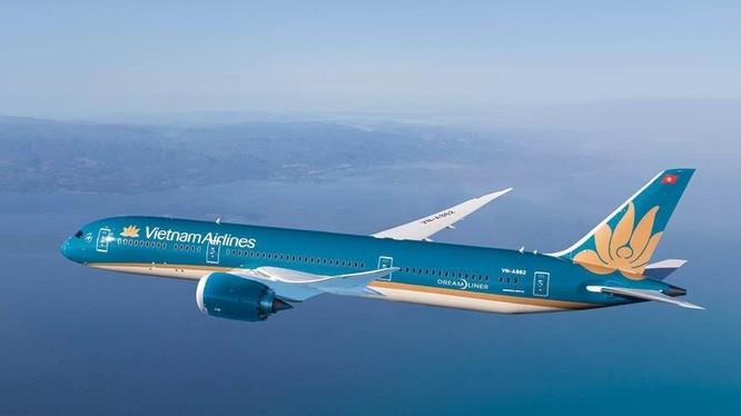 Boeing 787 của hãng hàng không Vietnam Airlines.