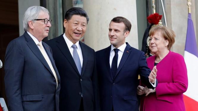 Cuộc gặp gỡ giữa những vị lãnh đạo của EU và Trung Quốc.