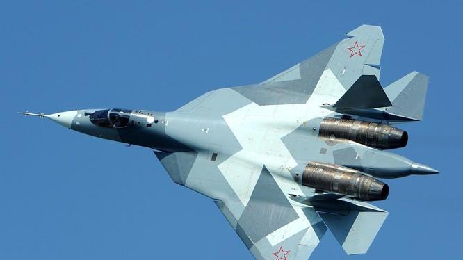 Máy bay chiến đấu tàng hình thế hệ thứ 5, Su-57 của Nga.