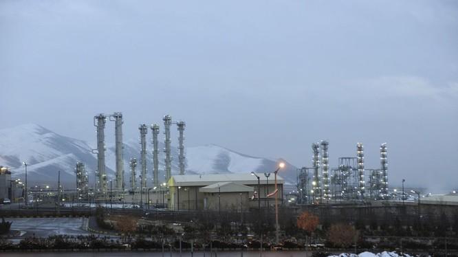 Cơ sở hạt nhân nước nặng tại Arak, Iran.