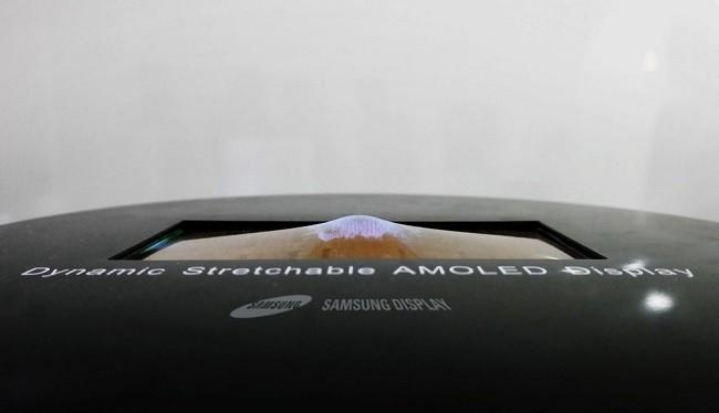 Màn hình có thể co giãn được Samsung giới thiệu