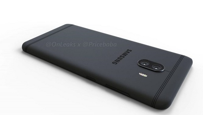Hình ảnh đồ họa của Galaxy C10