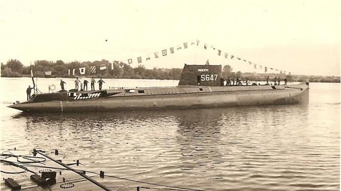 """Tàu ngầm diesel-điện """"Minerva"""", Hải quân Pháp. Ảnh: diaporama.sectionrubis.fr"""