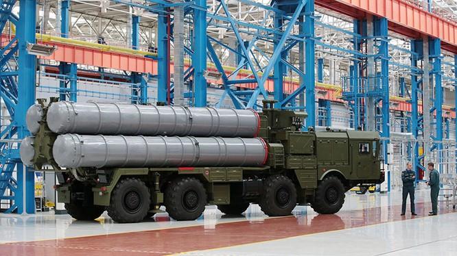 Hệ thống tên lửa S-500 của Nga có cả khả năng chống nghe trộm
