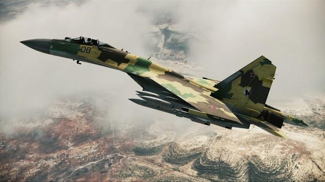 Máy bay tiêm kích thế hệ 4++ Su-35 của Không quân Nga