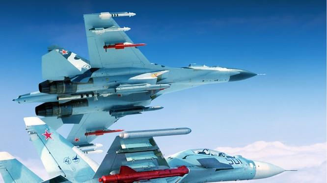 Liên doanh Nga - Ấn chuẩn bị sẽ thử nghiệm tên lửa BrahMos trên máy bay Su-30 - loại máy bay Không quân Việt Nam cũng đang vận hành (ảnh minh hoạ)