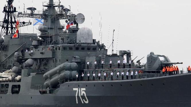 Tàu chiến của Hải quân Nga (ảnh minh hoạ)